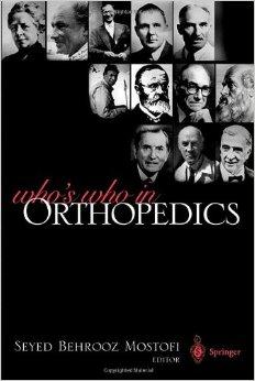 Book Whoiswhoinorthopaedics
