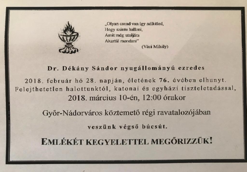 dekany_sandor_gyaszjelentes